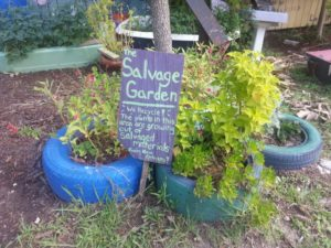 Salvage Garden, BCBSLA Foundation
