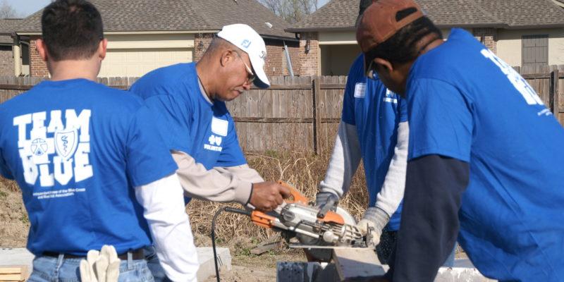 Volunteer, Louisiana, Blue Cross Foundation
